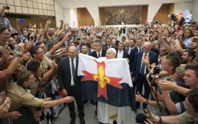 Address of Pope Francis to the Guides and Scouts of Europe – Euromoot 2019