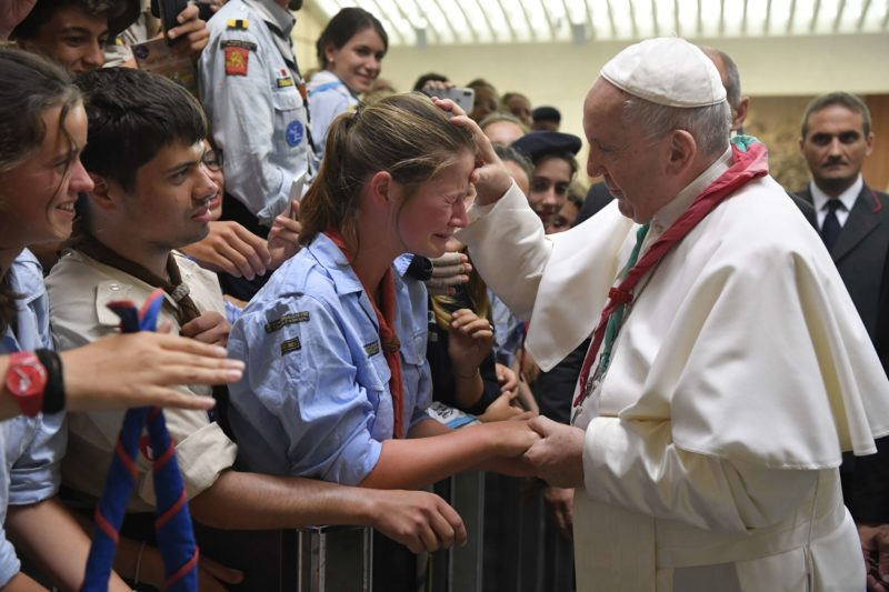 Euromoot 2019 – Audience with the Holy Father