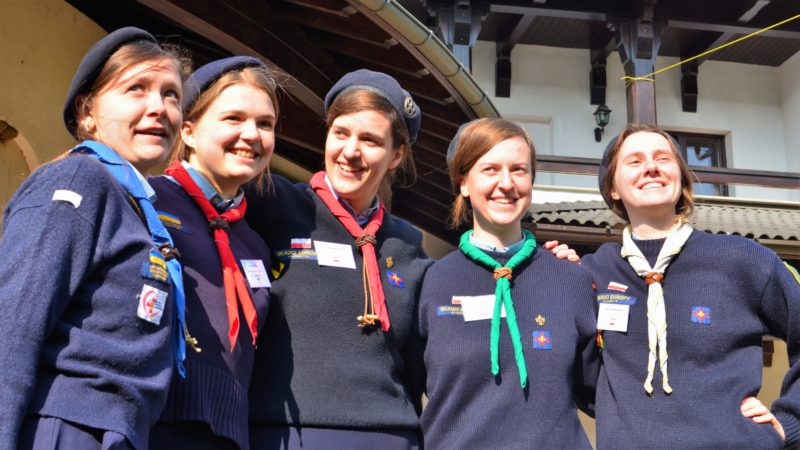 « Famille heureuse » à Bucarest : Woodbadge Days 2020