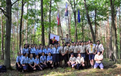 First third degree training camp in guides' section in Poland!