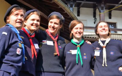 """""""Happy Family"""" in Bucharest: Woodbadge Days 2020"""